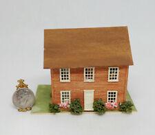 Vintage Furnished Dollhouse Artisan Dollhouse Miniature 1:12 1:144