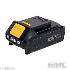 18V Li-Ion Batteries  GMC 1.5Ah REPLACEMENT FOR DRILL MACHINE POWER  476093