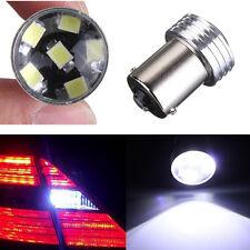 2x Bulb 12V Car LED Signal Rear Light BA15S 1156 White Lamp 2835 6 SMD Turn AU