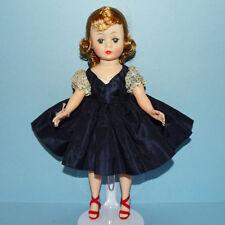 Madame Alexander Cissette Doll in 916 Navy Blue Taffeta Dress Variation 1959