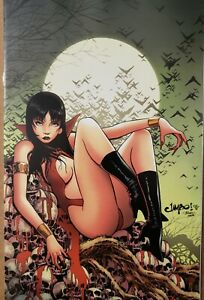 VAMPIRELLA #18 JIMBO SALGADO VIRGIN VARIANT DYNAMITE ENTERTAINMENT (2021)