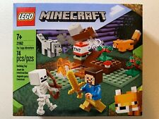 LEGO Minecraft 21162 The Taiga Adventure (74 pc) w/ 4 Characters NEW Mint