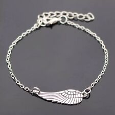 Angel Wing Bracelet! Gorgeous Silver Boho Bracelet! UK Seller! BUY 5 GET 1 FREE!