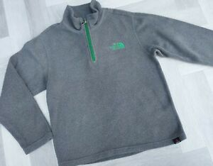 GENUINE  BOYS  The North Face   Fleece Jumper Size SMALL 7-8 YRS