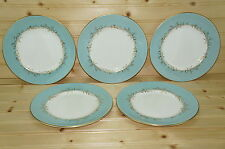 Royal Doulton Melrose H4955 Lot of (5) Salad Plates, 8 1/8""