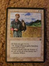 Soraya the Falconer Homelands LP White Rare MAGIC THE GATHERING CARD
