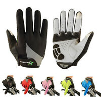 RockBros Full Finger Cycling Gloves Gel Bike Long Sports Touchscreen Gloves
