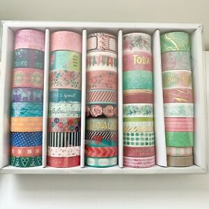 NEW Recollections Washi Craft Tape Box 45 Rolls 5 yds- (225 yds)