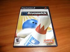 Brunswick Pro Bowling (Sony PlayStation 2, 2007) Used Complete PS2