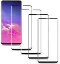 "Samsung Galaxy S10 Screen Protector Tempered Glass 6.1"" Fingerprint 3D [4-Pack]"