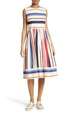 Kate Spade Berber Fit and Flare Dress Size UK 4 rrp £360 LF076 HH 06