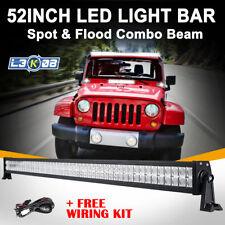 "52inch 700W PHILIPS LED Work Light Bar Flood Spot Offroad UTE Truck 4x4WD 42/50"""