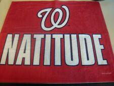 WASHINGTON NATIONALS 2019 Nats Rally Towel Natitude