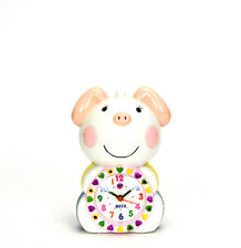 Adorable Lovely Pink Piggy Kids Musical Alarm Clock - Children Room Decoration