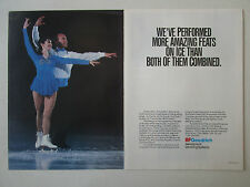 7/1991 PUB BF GOODRICH AEROSPACE DE-ICING SYSTEMS PATINAGE ARTISTIQUE ICE AD