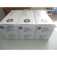 set  of 3 color   genuine HP   CE261A CE262A CE263A  648a Toner  CP4025 cp4525