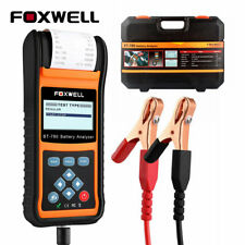 FOXWELL Battery Tester BT780 Car Battery Load Analyzer 12V&24V Starting Charging