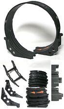 10pc Tomy Aurora Afx Ho Slot Car Loop Transition Tracks +Supports Unused Bulk A+