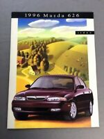 1996 Mazda 626 24-page Original Sales Brochure Catalog