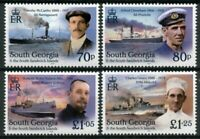 South Georgia & Sandwich Ships Stamps 2020 MNH Shackleton Unsung Heroes 4v Set