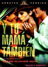 New Dvd- Y Tu Mama Tambien (Unrated Version) - Spanish Erotic Drama -