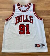 Dennis Rodman Chicago Bulls Pro Cut Nike Jersey Authentic  Jordan Champion NBA