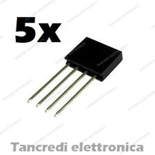 5x Connettori Strip Line Femmina 4 poli 10x1 - Header Socket Female arduino