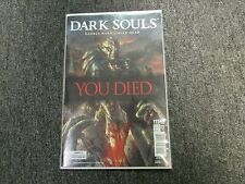 Dark Souls Comic Gamestop Power Up Rewards Exclusive Cover #1 New You Died