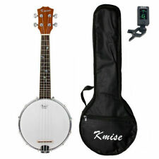 Karrera 5 String Bluegrass Resonator Banjo Brown