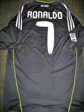 Authentic Real Madrid Ronaldo Black 2010 2011 Jersey Camiseta Shirt Maglia L