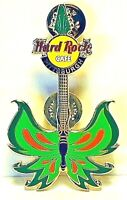 Hard Rock Cafe Pittsburgh Pin Tattoo Butterfly Guitar 2004 HRC LE NEW # 22025