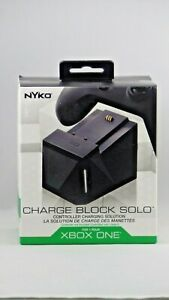 NEW NYKO 86130 Xbox One Charge Block Solo, USB Powered Dock with battery