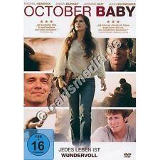 DVD: OCTOBER BABY - Jedes Leben ist wundervoll *NEU*