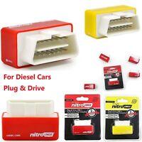Diesel Nitro OBD2 Chip Tuning Box Performance Plug & Drive Cars Red Universal