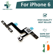 "For iPhone 6 6G 4.7"" Replacement Volume Buttons Mute Switch Connector Flex New"