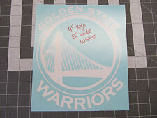 """GOLDEN STATE WARRIORS STICKERS MVP CURRY  - 9""""H x 8""""w Multiple Colors GSW1"""