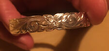 Sterling Silver Child's Cuff Bracelet 10.05g BEAUTIFUL