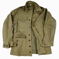 WWII US Army M43 Field Jacket Wind Coat Uniform Size 42R/XXL