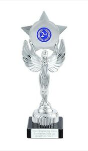 2nd Place Unity Victory Award 230mm Trophy (H) ENGRAVED FREE