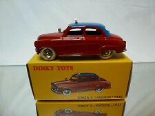 DINKY TOYS ATLAS 24 UT SIMCA 9 ARONDE TAXI - RED 1:43 - MINT IN BOX
