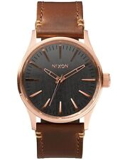 Nixon A3772001 Sentry 38 Leather