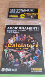 Aggiornamento figurine Calciatori  Panini 2014/2015 sigillato