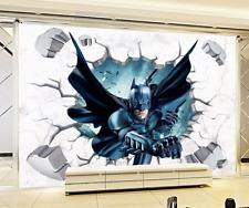 Wandbild Wandtattoo Decke Bild Batman Wand Durchbruch Faust Sticker Neu Top WoW