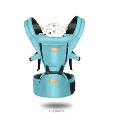 Infant Baby Carrier Wrap Adjustable Sling Newborn Backpack Ergonomic Breathable