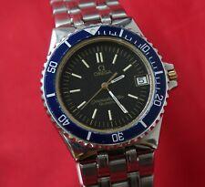 Omega Seamaster Ref. 196.0185 396.0900 120m Quartz Jacques Mayol Herrenuhr 35 mm