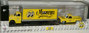 M2 Machines Mooneyes 1968 Chevrolet C60 & 1976 Silverado Stepside Auto Haulers