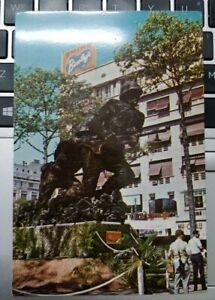 Saigon The Unknown Heroes Monument Vintage Postcard, printed in HK