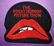 ROCKY HORROR PICTURE SHOW Quality Iron on Patch Badge 1970's Movie Costume Dress