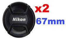 2x Bouchon (cache objectif) de remplacement 67 mm, pour Nikon Coolpix P900