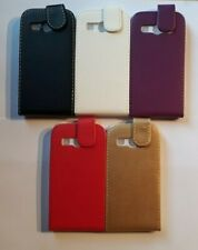 Vertical style PU leather flip phone case, cover to fit Samsung Galaxy Ace 4